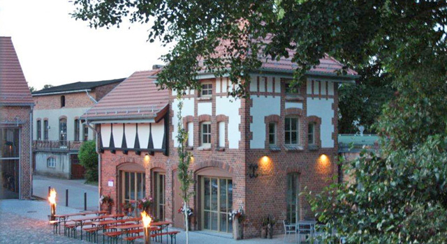 Ladencafé zur alten Feuerwehr in Möckern-Friedensau auf dem Campus der Theologischen Hochschule Friedensau