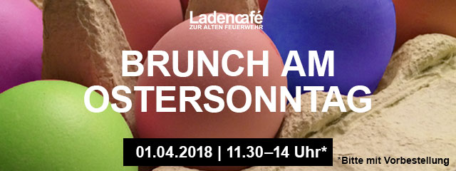 Osterbrunch am 01.04.2018