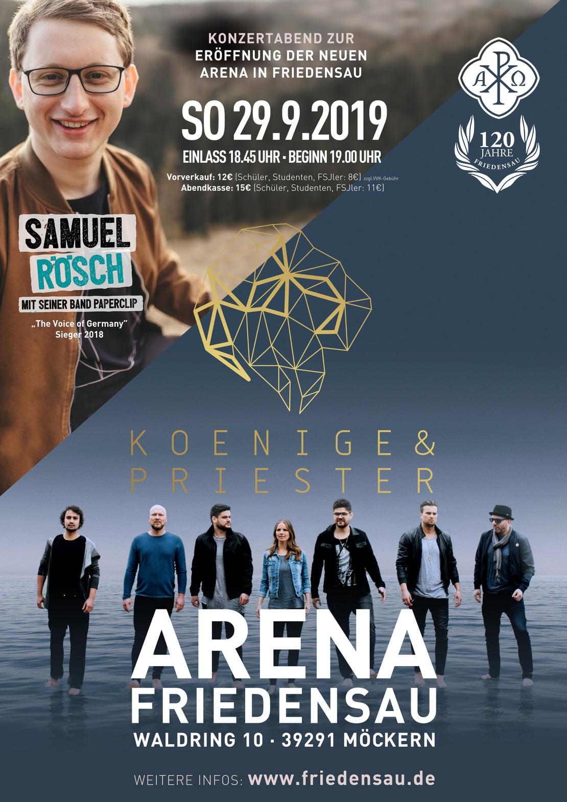 Konzert in der Arena Friedensau